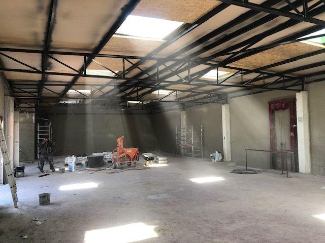 Dent creuse entrepôt travaux rénovation