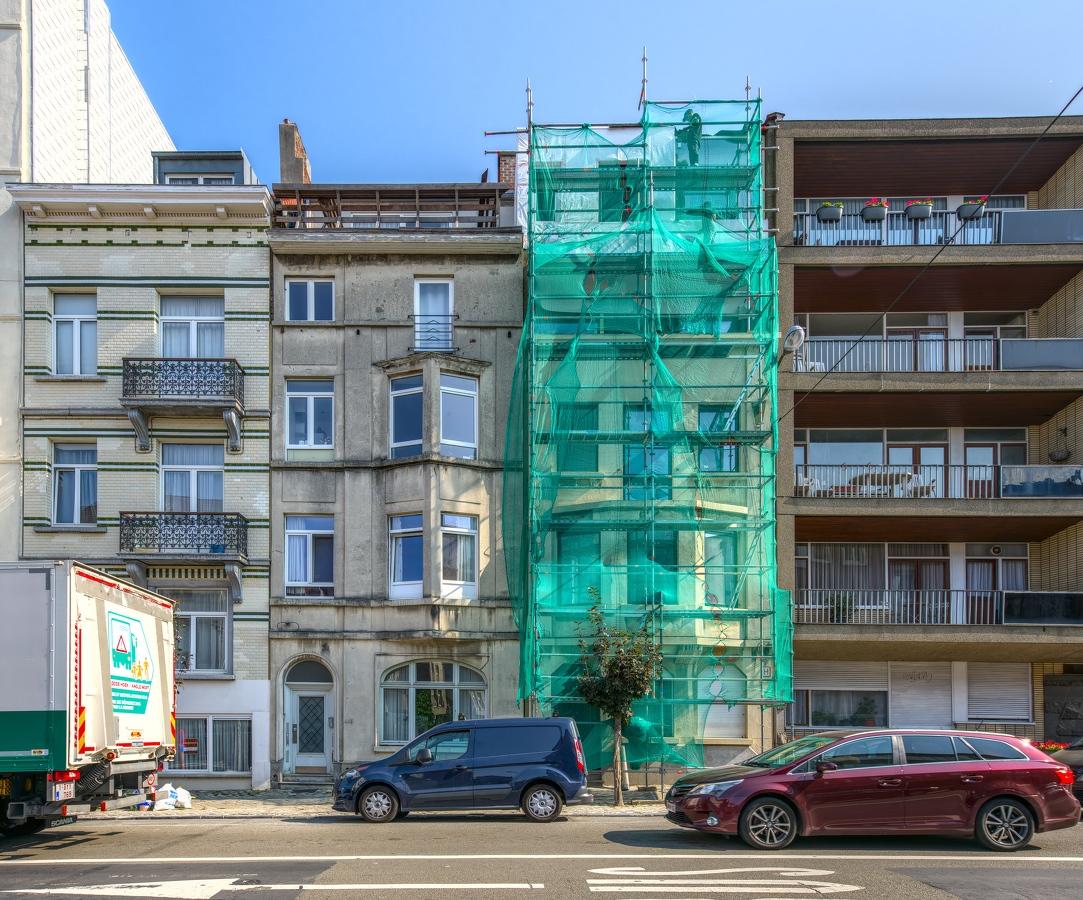 Dent creuse façade rénovation