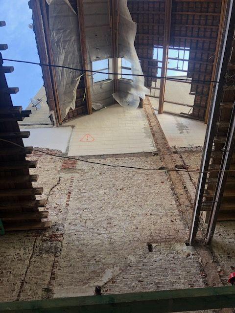 Dent creuse comblé rénovation travaux toitures